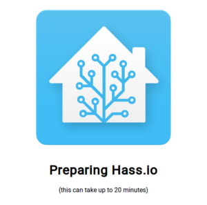 preparing hass.io