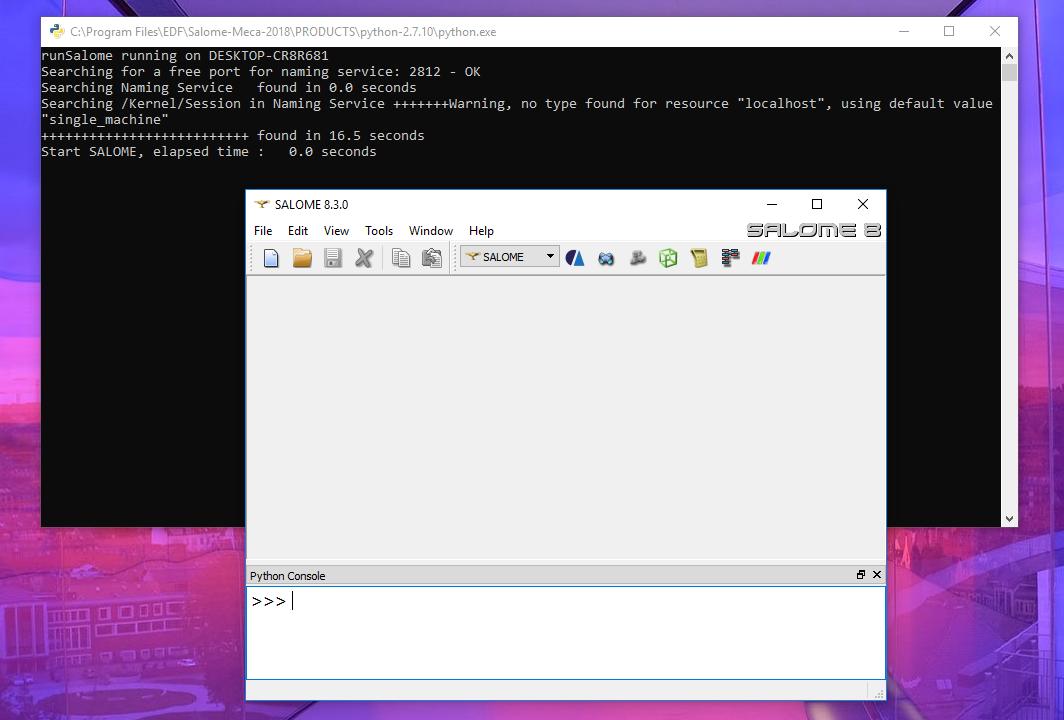 Installing SALOME-Meca on Windows 10 – jolahde